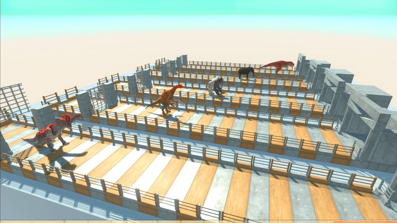 Which Units is the Fastest? Unit Races on the Race Track in Animal Revolt Battle Simulator