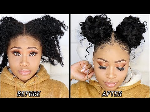 5-minute-no-heat-curly-buns
