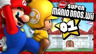 NEW SUPER MARIO BROS WII #01 EN DUO ! NOUVELLE ÉPOPÉE DE KIKI & KIRBENDO !