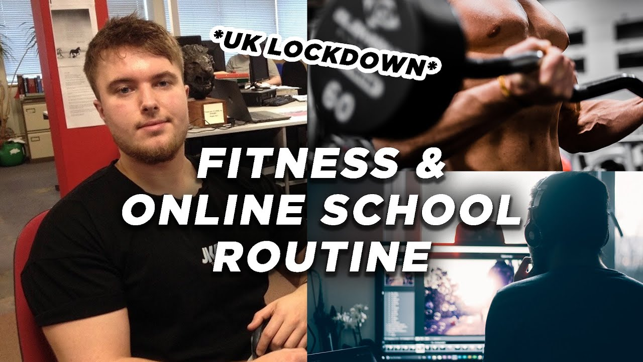 Balancing fitness and school | Day in the life