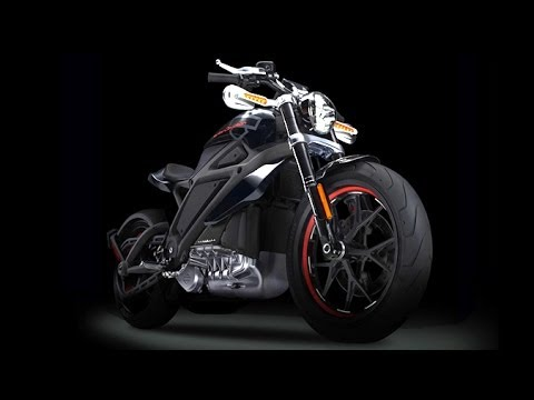 Harley-Davidson Introduces Their First Electric Motorcycle 'LiveWire'