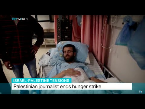 Palestinian journalist ends hunger strike