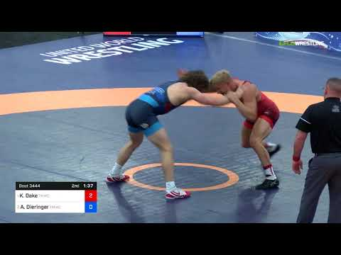 2018 Marine Corps US OpenSenior Men&39;s Freestyle 79 Finals - Kyle Dake TMWC Vs Alex Dieringer