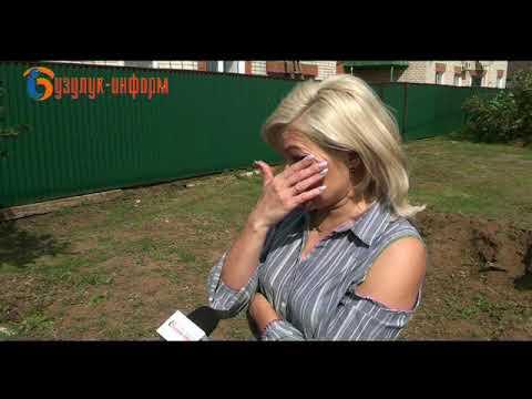 Бузулук переживает последствия урагана