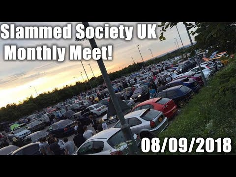 Slammed Society UK Monthly Meet 08/09/2018