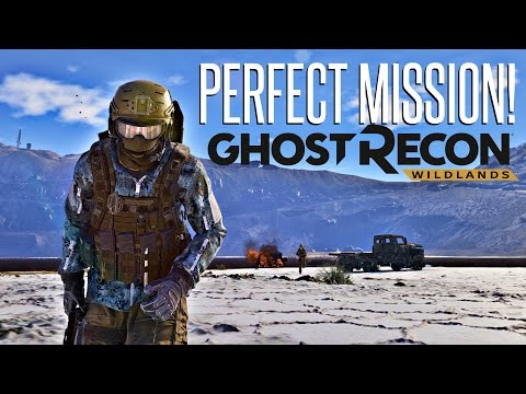 PERFECT STEALTH MISSION! - Ghost Recon Wildlands Open Beta