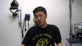 Post-Lasik  Ectasia patient wearing Scleral Lenses and seeing clearly once again.(Chinese)