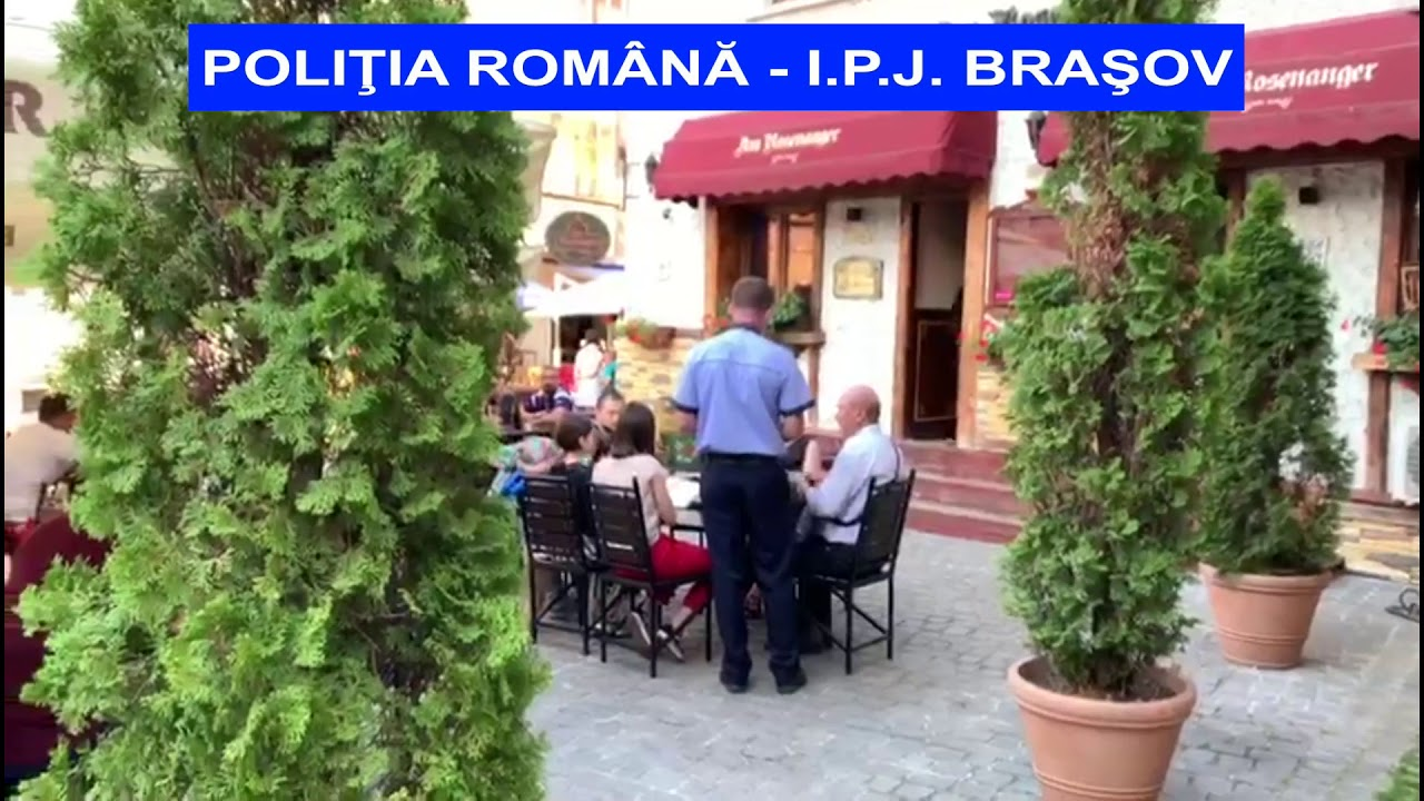Controale terase Politia Brasov
