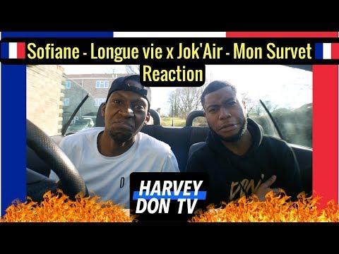 Sofiane – Longue vie x Jok'Air - Mon Survet Reaction @harveydontv