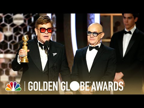 Jodi Stewart - Elton John Accepts Golden Globe For Best Original Song For Rocket Man