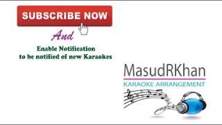 Ami Tomar Shonge Bedhechi Amar Pran | Karaoke | Ravindra Sangeet