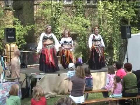 *Lunaris et Solifer* Tribal Improvisation Auftritt Burg Geretzhoven Cultus Ferox - Tamfanae