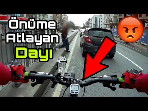 Geziyorum | Önüme Atlayan Dayı | Benim  Yüzümden Kavga Çıkıyordu :D | Bisiklet Vlog #26