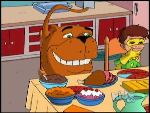 Мультфильм жирный пес