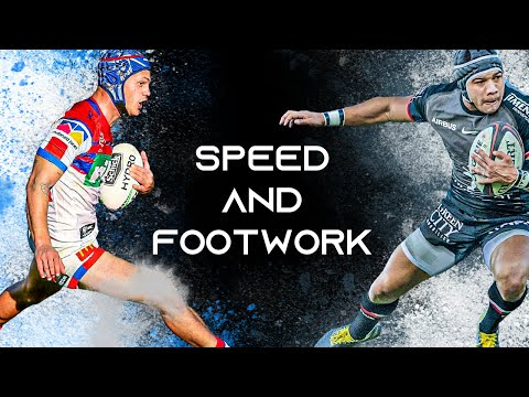 Unbelievable Rugby Steps | The Best Rugby Footwork And Speed
