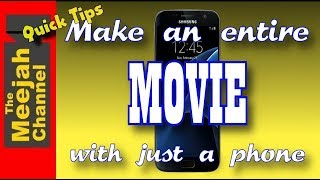 Make an Entire Movie with just a Phone!