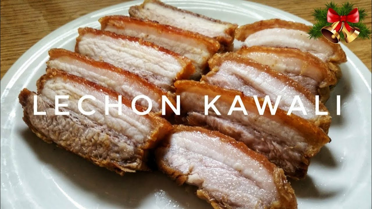 How To Cook Lechon Kawali Kat S Empire Youtube