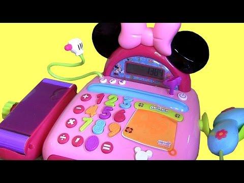 Minnie Mouse Electronic Cash Register Bowtique Caja