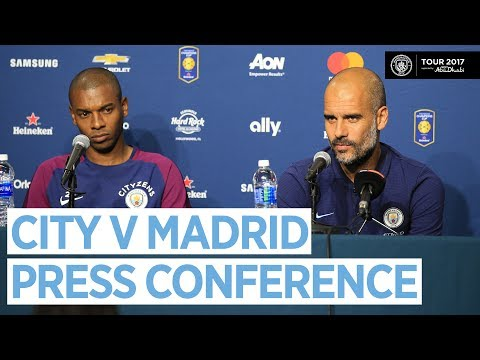 REAL MADRID WILL BE A GOOD TEST! | MAN CITY V REAL MADRID | Guardiola Press Conference