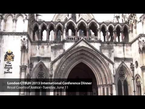 London 2013: Conference Dinner, Royal Courts of Justice