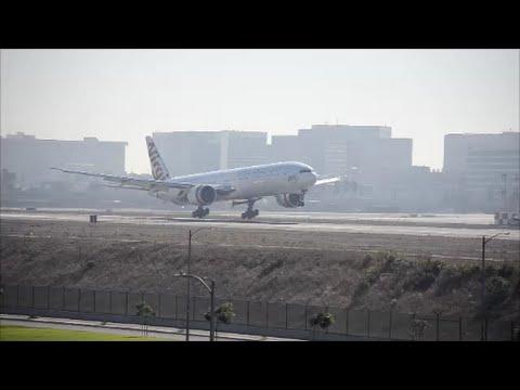 VIRGIN AUSTRALIA 777 LANDING