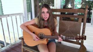 Taylor Swift - Teardrops On My Guitar (cover) by Caitlyn Green
