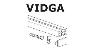HOW TO INSTALL IKEA VIDGA RAIL: TRIPLE TRACK