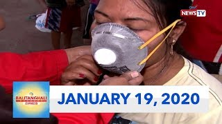 Balitanghali Weekend Express: January 19, 2020 [HD]