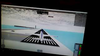 Flying a A320 in SFS Roblox