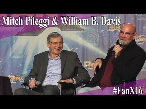 Mitch Pileggi and William B. Davis - Full Panel/Q&A - FanX 2016