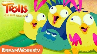 Branch's Bird Babies | TROLLS: THE BEAT GOES ON!