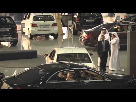 RFID at world's largest Mercedes-Benz facility Emirates Motor Company - Abu Dhabi
