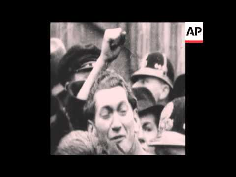 CAN127 NEWSREEL NAZI INVASION OF CZECHOSLOVAKIA