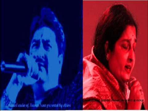 Dheere Dheere Se Meri Zindagi Mein Aana Kumar Sanu w Anuradha Paudwal enhanced version 2