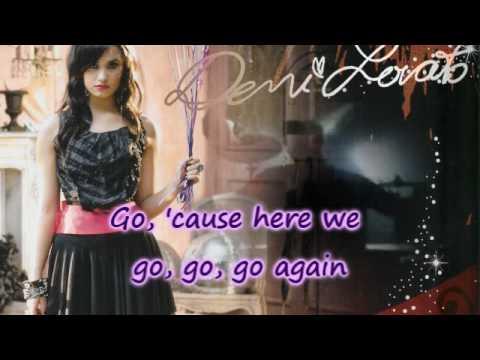 Here We Go Again (Karaoke Version) [HQ]- Demi Lovato