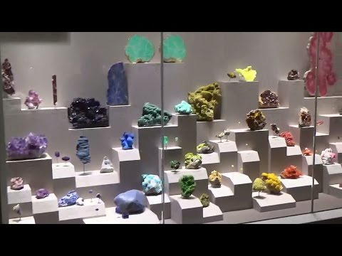 Smithsonian National Museum of Natural History - Gems and Minerals July 2016