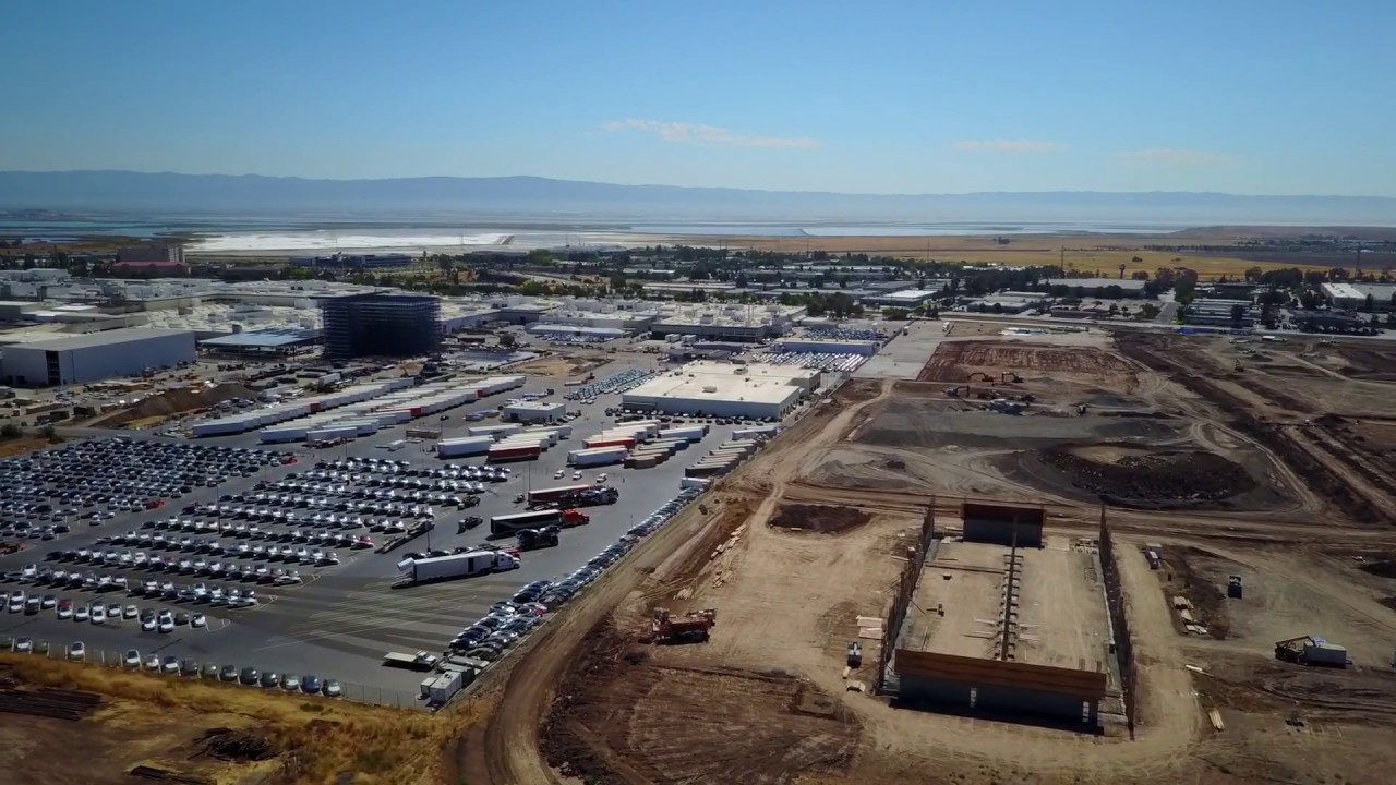 The Tesla Plant In Fremont California July 2017
