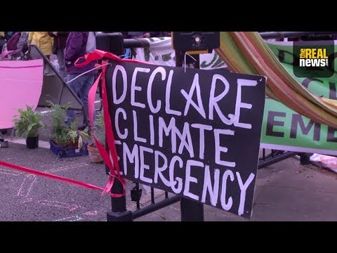 Extinction Rebellion Stages Liverpool Protest for Climate Action