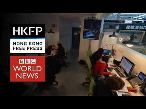 BBC World: Hong Kong Free Press, 'Fighting for a Free Press'