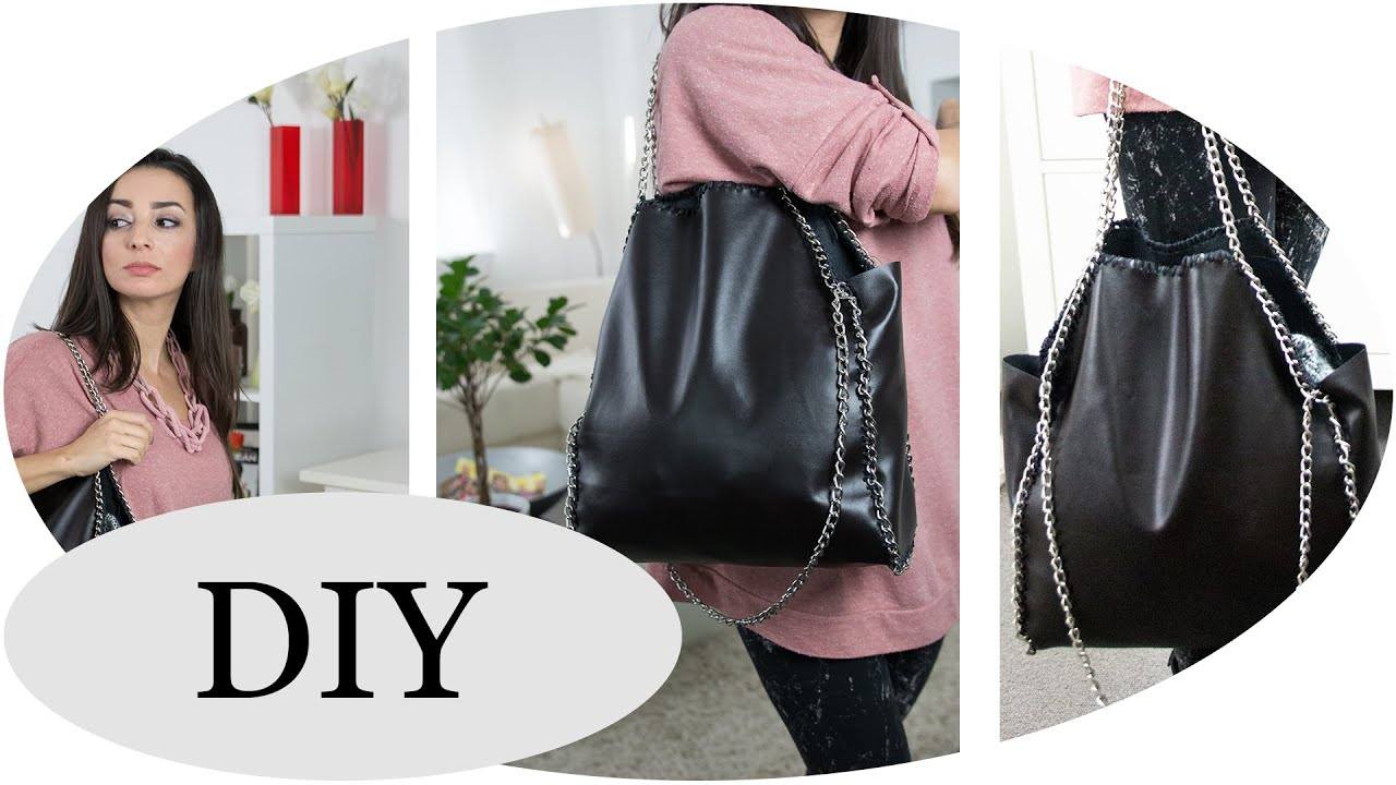 stella mccartney falabella bag diy youtube. Black Bedroom Furniture Sets. Home Design Ideas