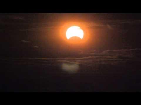 Solar Eclipse from New York City - Nov 3, 2013