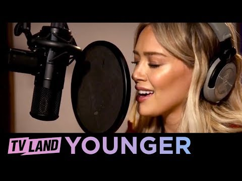 BTS of Hilary Duff's Fleetwood Mac Little Lies Cover | Younger (Season 2) | TV Land
