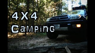 4X4 Camping~Texas Sam Houṡton National Forest 4K