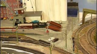 Vlog 27 Rhineland Train Layout Update   Seaport Trees Gadget
