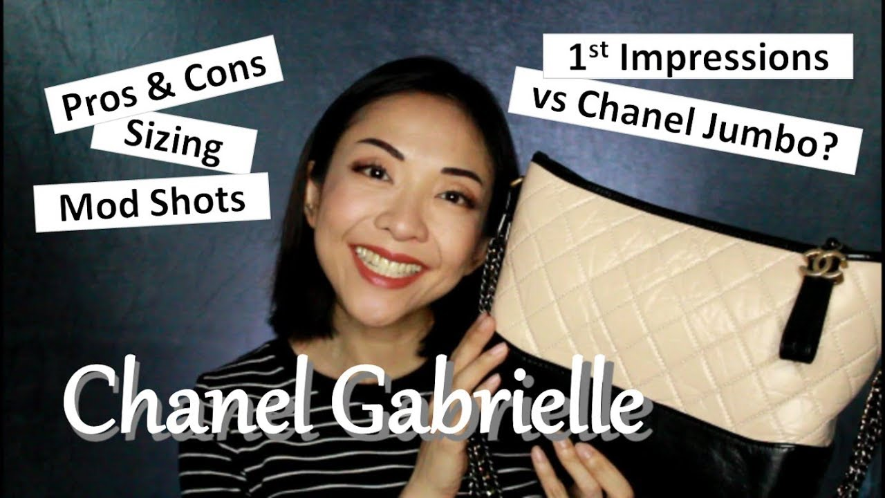 24730cf6c9e2 Chanel Gabrielle | Luxe Review | Pros & Cons | WIMB | Kat L - YouTube