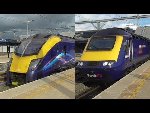 Great Western Railway Class 180 & Class 43 HST Rides: London Paddington to Didcot Parkway - 10/10/17