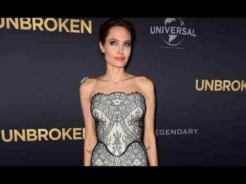 Angelina Jolie y su Delgadez