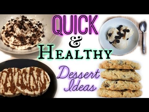 Quick healthy dessert ideas beyondbeautystar youtube for Quick easy healthy dessert recipes