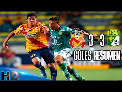 Morelia Vs Leon 3 3 Goles Resumen Copa Mx 2016 Hd Youtube