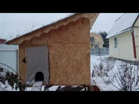 Зимний домик для кошек